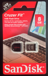BibleBox Sandisk Cruzer Fit micro USB