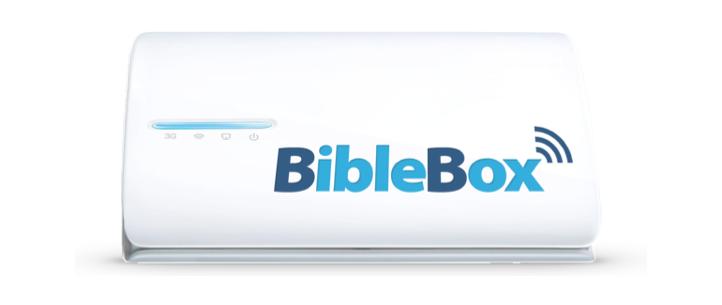 BibleBox wifi Bible router