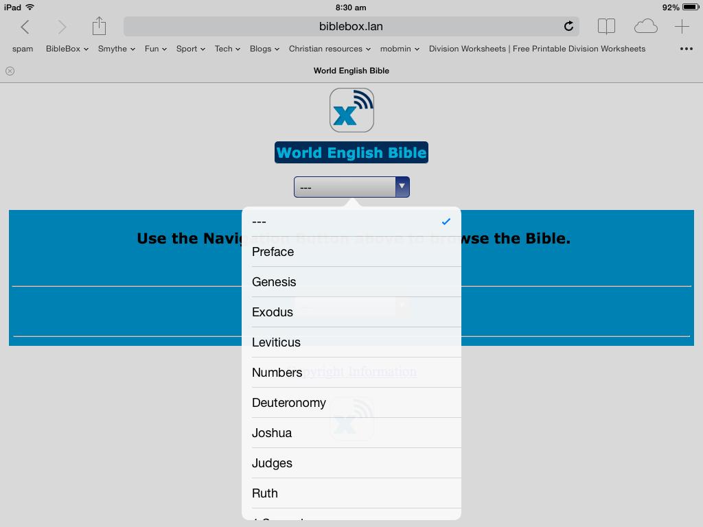 BibleBox WEB Bible