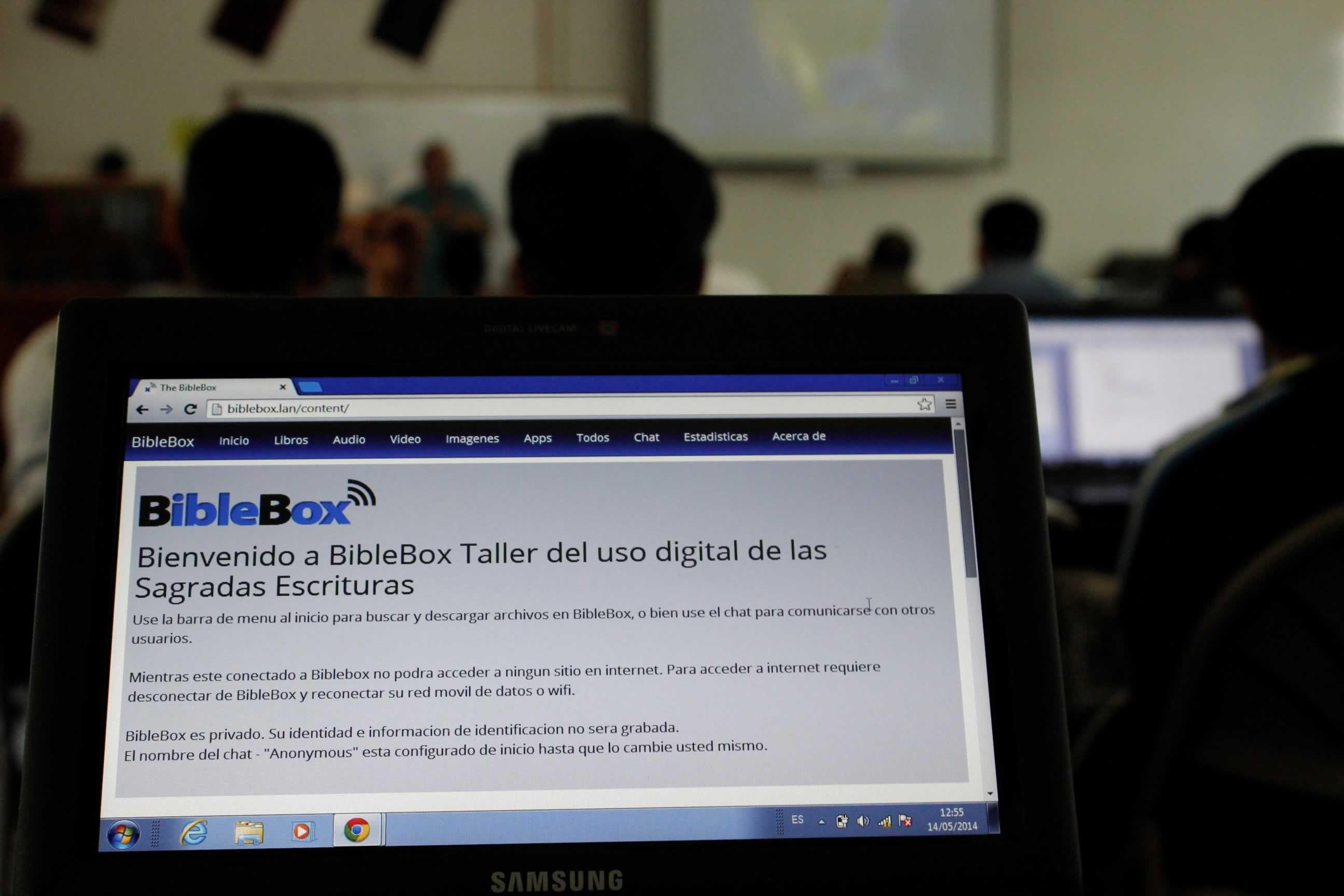 BibleBox spanish Mexico